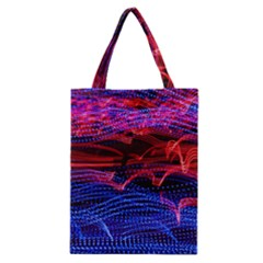 Lights Abstract Curves Long Exposure Classic Tote Bag