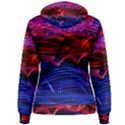Lights Abstract Curves Long Exposure Women s Pullover Hoodie View2