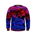 Lights Abstract Curves Long Exposure Kids  Sweatshirt View1
