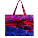 Lights Abstract Curves Long Exposure Large Tote Bag View1