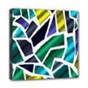 Mosaic Shapes Mini Canvas 8  x 8  View1