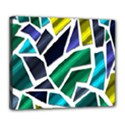 Mosaic Shapes Deluxe Canvas 24  x 20   View1