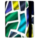 Mosaic Shapes Apple iPad 2 Flip Case View2