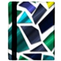 Mosaic Shapes Apple iPad 2 Flip Case View3