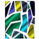 Mosaic Shapes Apple iPad Mini Flip Case View1
