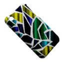 Mosaic Shapes Apple iPhone 3G/3GS Hardshell Case (PC+Silicone) View5