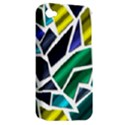 Mosaic Shapes Apple iPhone 4/4S Hardshell Case (PC+Silicone) View2