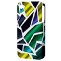 Mosaic Shapes Apple iPhone 4/4S Hardshell Case (PC+Silicone) View3