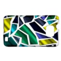 Mosaic Shapes Samsung Galaxy S II i9100 Hardshell Case (PC+Silicone) View1