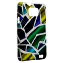 Mosaic Shapes Samsung Galaxy S II i9100 Hardshell Case (PC+Silicone) View2