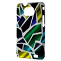 Mosaic Shapes Samsung Galaxy S II i9100 Hardshell Case (PC+Silicone) View3