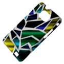 Mosaic Shapes Samsung Galaxy S II i9100 Hardshell Case (PC+Silicone) View4