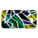 Mosaic Shapes HTC Butterfly X920E Hardshell Case View1