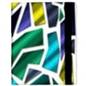 Mosaic Shapes Samsung Galaxy Tab 10.1  P7500 Flip Case View3