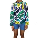 Mosaic Shapes Kids  Long Sleeve Swimwear View1