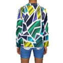 Mosaic Shapes Kids  Long Sleeve Swimwear View2