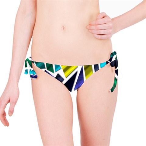 Mosaic Shapes Bikini Bottom