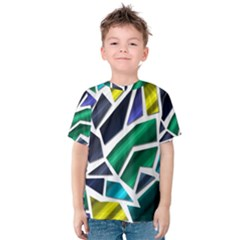 Mosaic Shapes Kids  Cotton Tee
