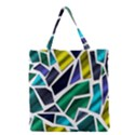 Mosaic Shapes Grocery Tote Bag View1