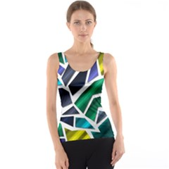 Mosaic Shapes Tank Top