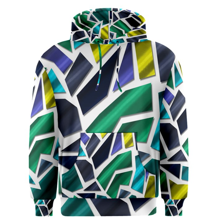 Mosaic Shapes Men s Pullover Hoodie