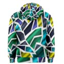 Mosaic Shapes Men s Pullover Hoodie View2