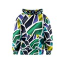 Mosaic Shapes Kids  Pullover Hoodie View1