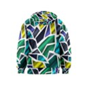 Mosaic Shapes Kids  Pullover Hoodie View2