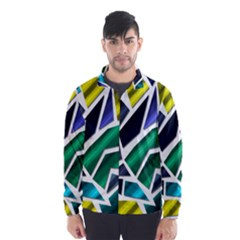 Mosaic Shapes Wind Breaker (Men)