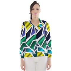 Mosaic Shapes Wind Breaker (Women)