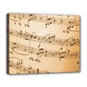 Music Notes Background Canvas 14  x 11  View1