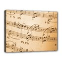 Music Notes Background Canvas 16  x 12  View1