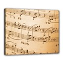 Music Notes Background Canvas 20  x 16  View1