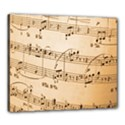 Music Notes Background Canvas 24  x 20  View1