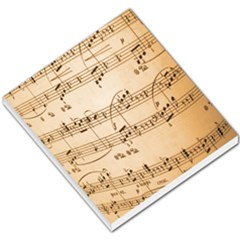 Music Notes Background Small Memo Pads