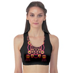 Alphabet Shirt Sports Bra