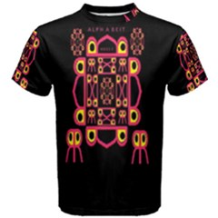 Alphabet Shirt Men s Cotton Tee