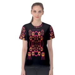 Alphabet Shirt Women s Sport Mesh Tee