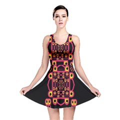 Alphabet Shirt Reversible Skater Dress