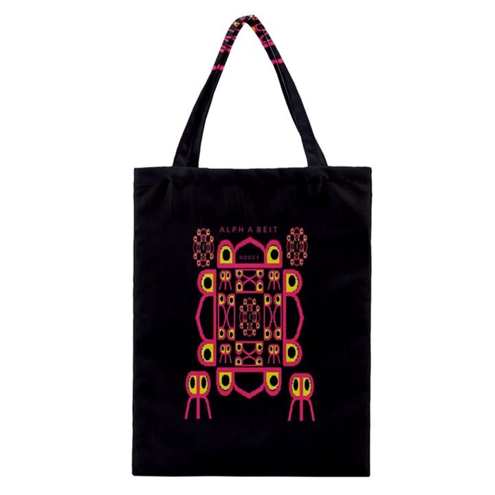 Alphabet Shirt Classic Tote Bag