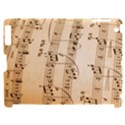 Music Notes Background Apple iPad 2 Hardshell Case (Compatible with Smart Cover) View1