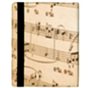Music Notes Background Apple iPad 2 Flip Case View3