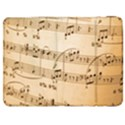 Music Notes Background Samsung Galaxy Tab 7  P1000 Flip Case View1