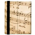 Music Notes Background Samsung Galaxy Tab 8.9  P7300 Flip Case View3