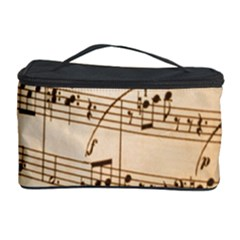 Music Notes Background Cosmetic Storage Case
