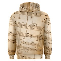 Music Notes Background Men s Pullover Hoodie
