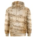 Music Notes Background Men s Pullover Hoodie View1