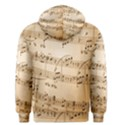 Music Notes Background Men s Pullover Hoodie View2