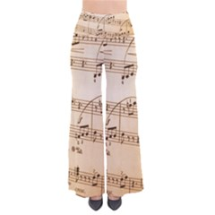 Music Notes Background Pants