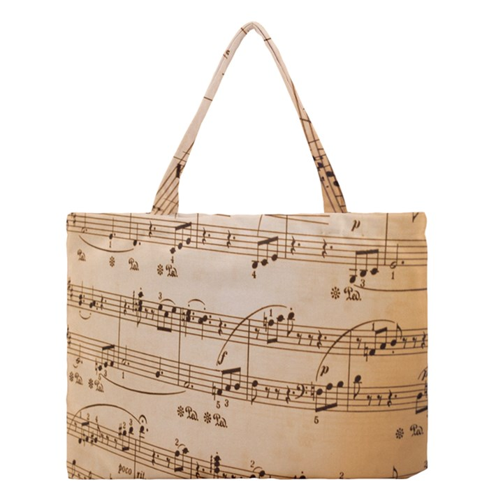 Music Notes Background Medium Tote Bag